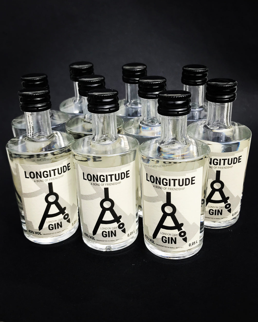 Longitude London Dry Gin 10 x 0,05L