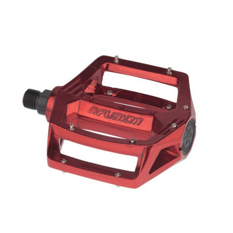 "HARO FUSION PEDALS 9/16"" RED"