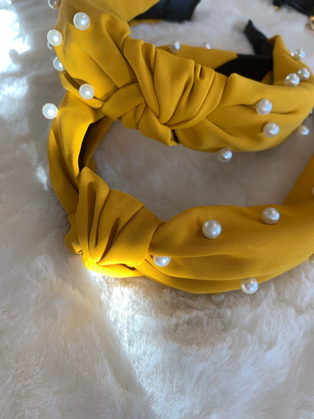 Cute yellow Headband