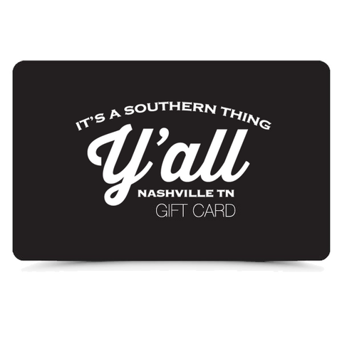 Y'all Gift Card