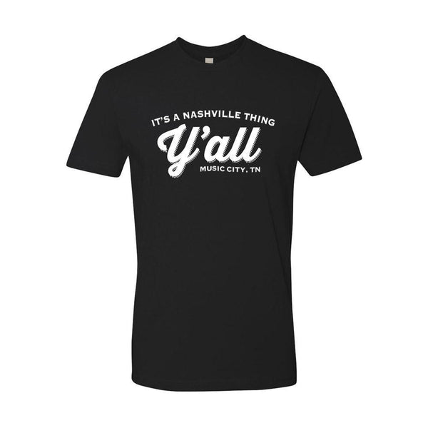 Y'all Logo T-shirt - Black