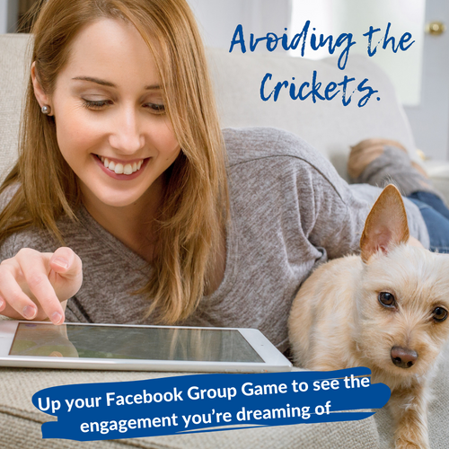 Avoiding the Crickets: Up your Facebook Group Game to see the engagement you're dreaming of