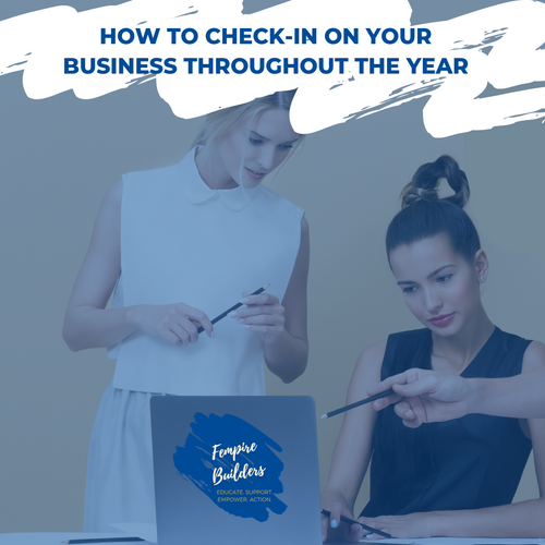 How to check-in on your business throughout the year