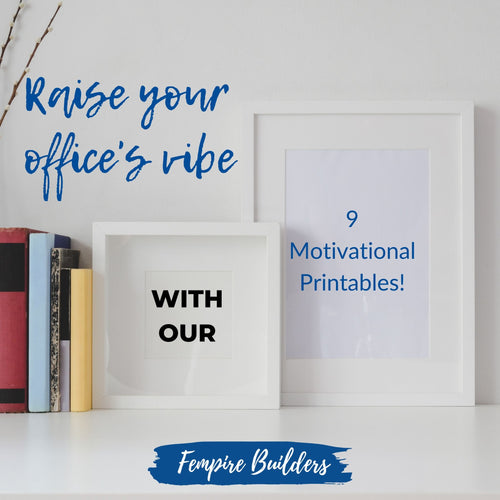 Motivational prints for your office