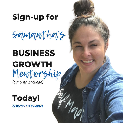 Business Growth Mentorship (6 months) - One Time Payment