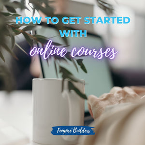 How to get started with online courses