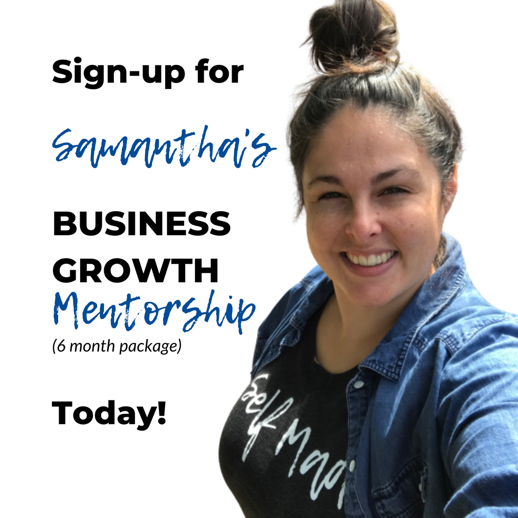 Business Growth Mentorship (6 months)