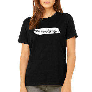 Fempire Relaxed Jersey Short-Sleeve T-Shirt - Black