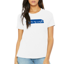 Load image into Gallery viewer, Fempire Relaxed Jersey Short-Sleeve T-Shirt - White