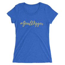 Load image into Gallery viewer, #GoalDigger | Ladies' short sleeve t-shirt