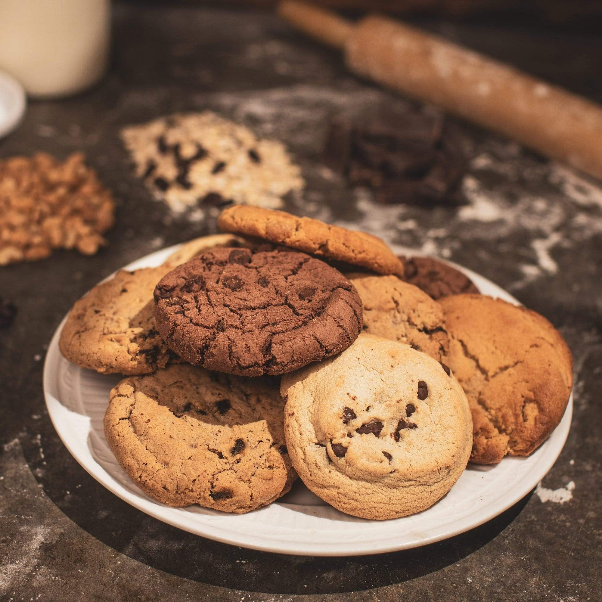 Double Chocolate cookies (Gluten Free) 12-Pack
