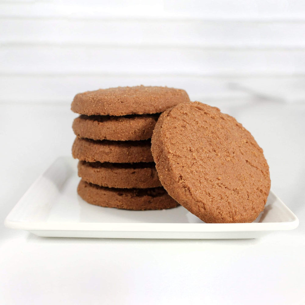 shortbread chocolate cookies