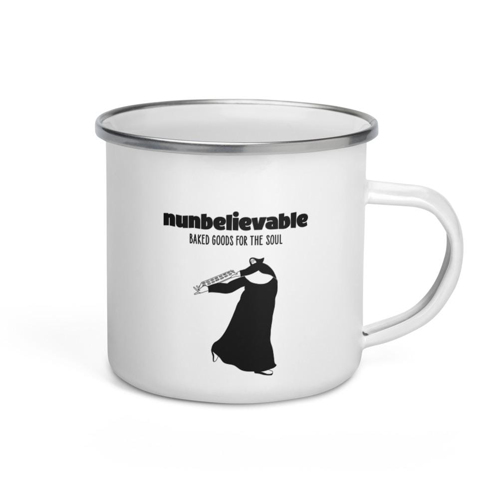 Nunbelievable 11 Oz Enamel Mug - Like Nun Other!
