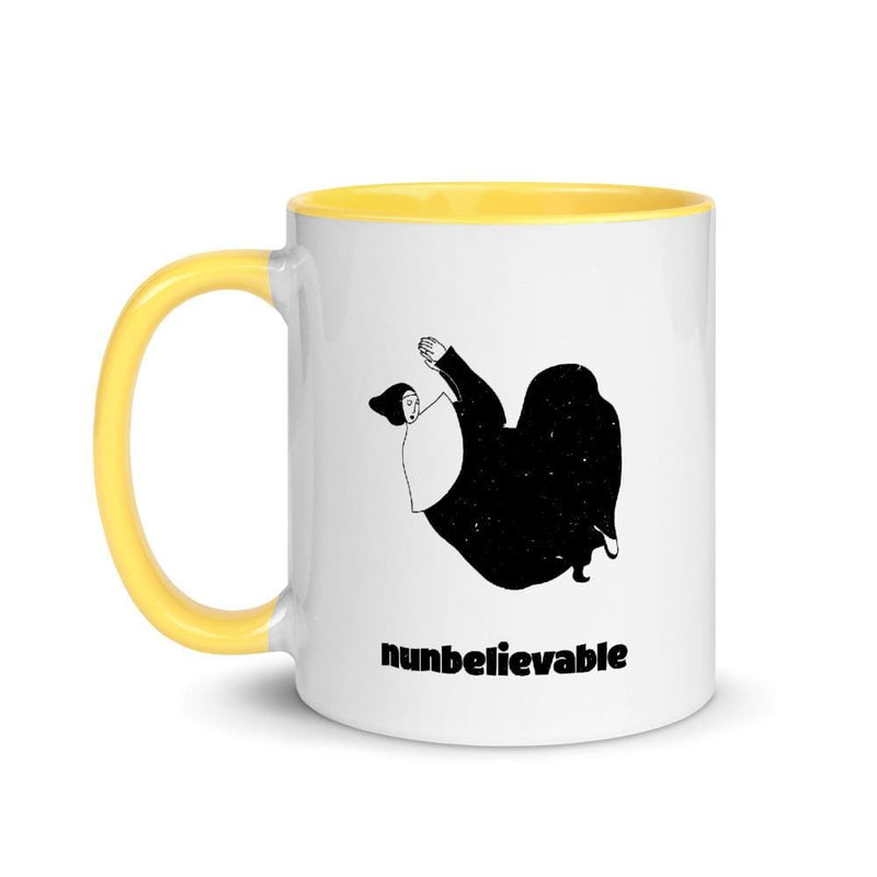 Nunbelievable 11 Oz Ceramic Mug - Nun Sense! Everyone Loves Coffee!