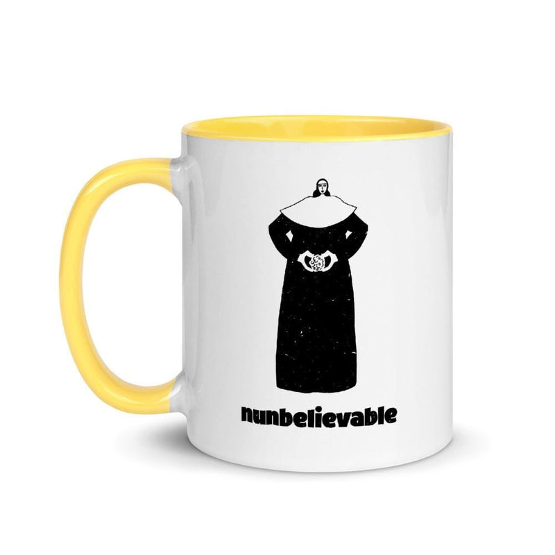 Nunbelievable 11 Oz Ceramic Mug - Nun Ya Business!