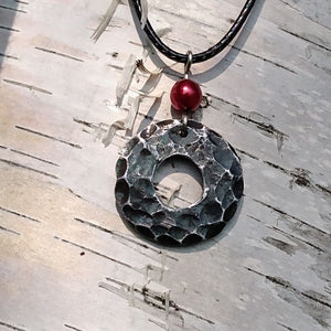 Iron Moon Pendant