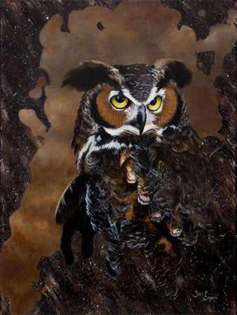 Great Horned Owl (Giclee Print)