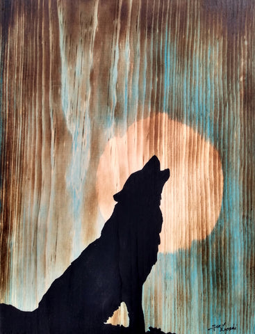 Lone Wolf Silhouette