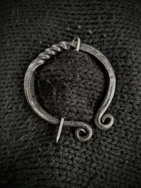 Forged Shawl Pin Workshop