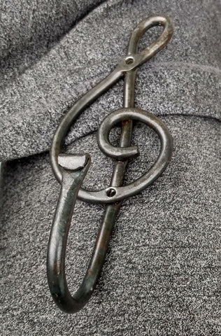 Large Treble Clef Hook