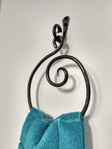 Spiral Towel Ring
