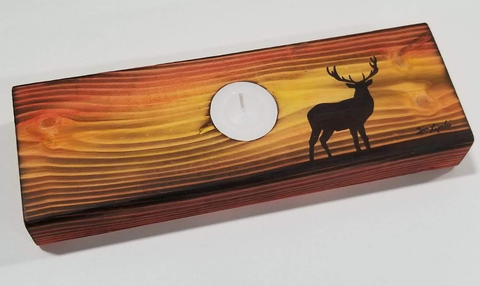 Stag Design Tealight