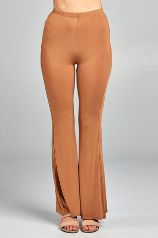 Ladies fashion bell bottom long pants