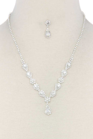 Rhinestone Necklace