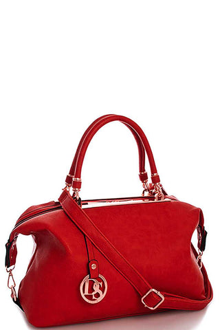 Designer Fashion Loose Fit Satchel With Long Strap
