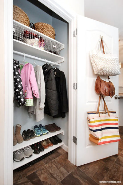 17 Hall Closet Organization Ideas
