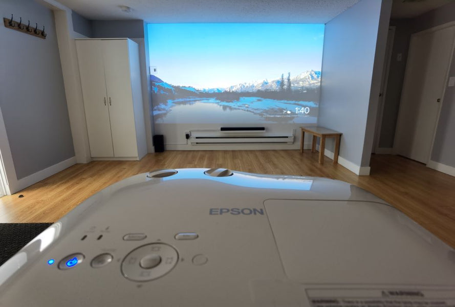 Should I get a television or a projector? If you're looking for the biggest screen possible, that's a question you're asking yourself