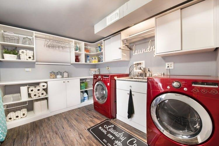 Enchanting Modern Laundry Room