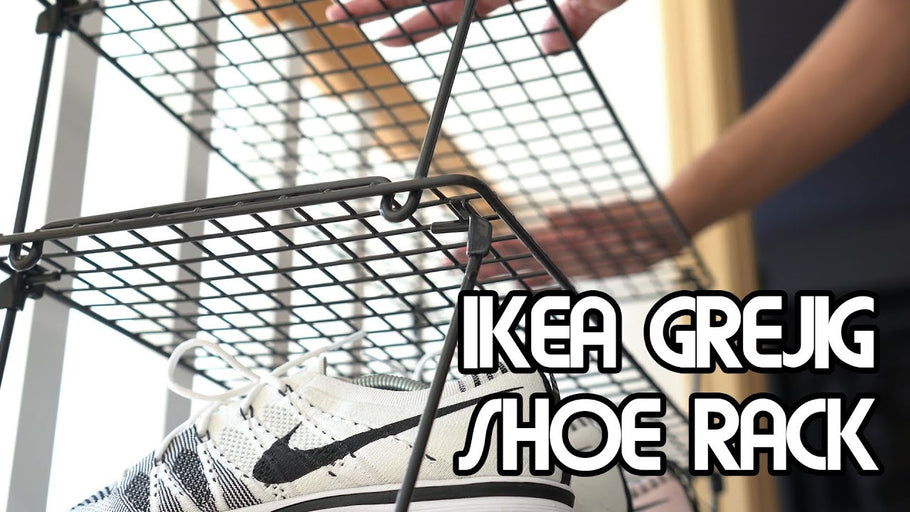 Every sneakerhead needs this essential shoe rack, for cheap! IKEA has most of my sneaker needs for display! Buy the IKEA Rack: