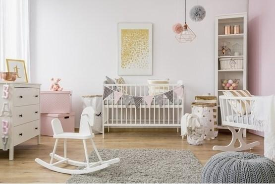 Winsome Nursery Storage Ideas