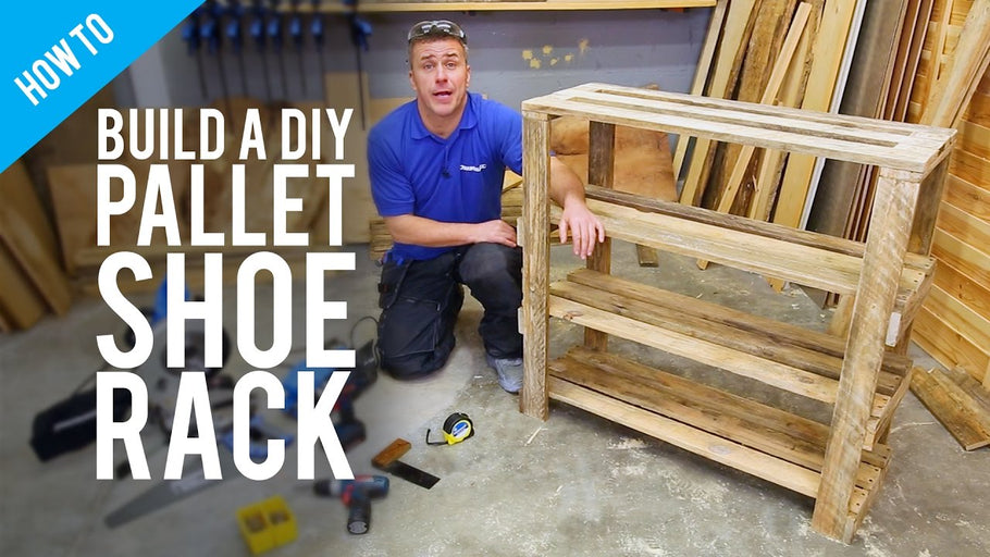 How to build a pallet shoe rack with DIY expert Craig Phillips