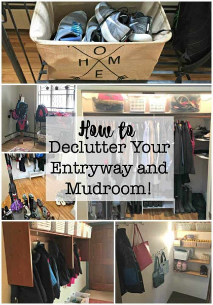 I think that we can all agree that no matter where you enter your home- it becomes the dumping ground for everything- kids backpacks and shoes, your handbag, keys, the mail, etc! And since the entryway sets the tone for your whole home- when it is a...