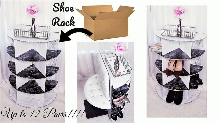 This is a Diy Video on How To Make a Quick, Easy and Inexpensive Shoe Rack that takes up to 12 Pairs of Shoes! It is a Shoe Rack with a Contemporary Feel ...