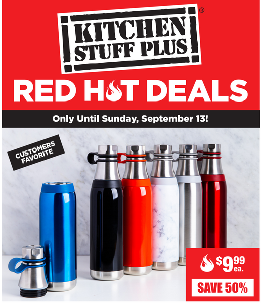 Kitchen Stuff Plus Canada Red Hot Deals: Save 66% on 6 Pc. Zwilling Henckels 4-Star Block with Bonus Sharpener Set + More Deals