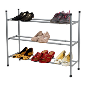 Extendable Tiered Shoe Racks