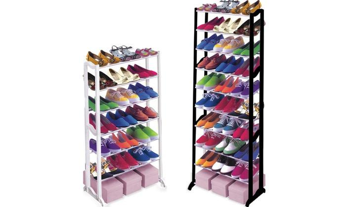 7 & 10 Tier Shoe Rack