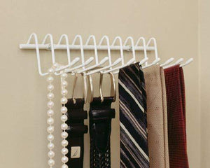 Shop for closetmaid 71008 versatile tie belt rack white