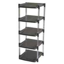 Load image into Gallery viewer, * Five Tier Shoe Rack With Clear Support Pole various colors