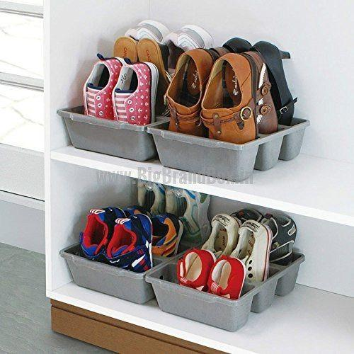 3 Section Shoe Holder