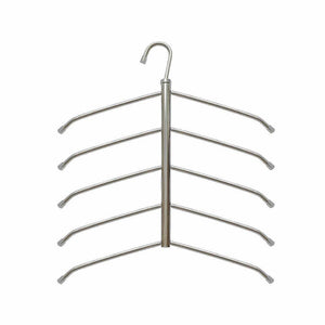 Budget friendly suzeda 5 tier stainless steel blouse tree hanger closet organizer 6 pack