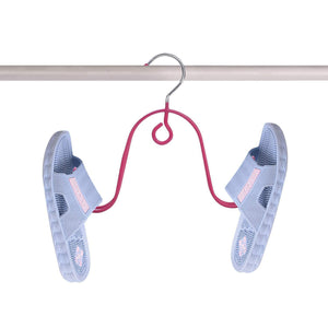 Best seller  gocelyn shoes drying hanger 2 pack stainless steel shoes drying hook for household storage and closet organizer