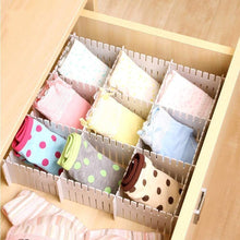 Load image into Gallery viewer, Online shopping shineme drawer organizer 24pcs diy plastic drawer dividers household storage shineme thickening housing spacer sub grid finishing shelves for home tidy closet stationary makeup socks organizer