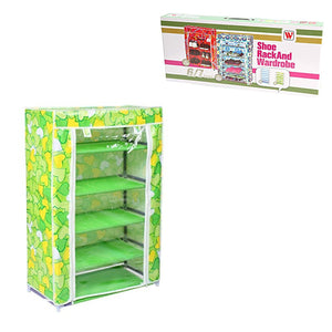 4/5 Layer Shoe Rack and Wardrobe Storage Organiser 2582