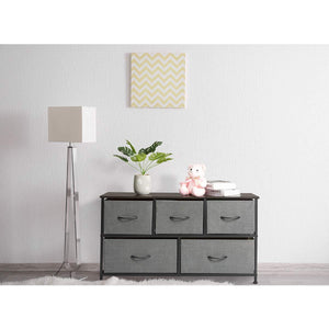 Latest marble field 3 tier dresser drawer nightstands storage organizer dresser tower with 5 easy pull drawers and metal frame for your bedroom nursery closet entryway grey 32 37x11 31x29 84