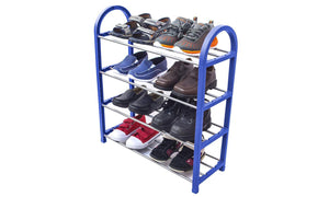 Kids Shoe Rack Junior Organizer Storage 4 Levels Tier