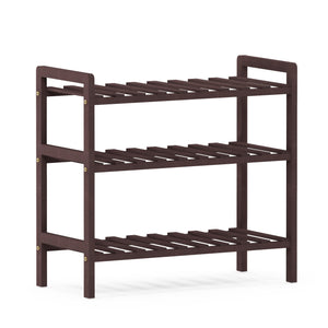 Furinno Pine Solid Wood 2-Tier Shoe Rack FNCJ-33041EX